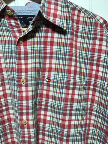 Tommy Hilfiger Short Sleeve Shirt (Size M)