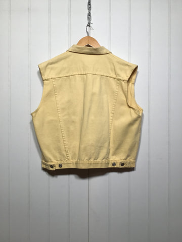 Sleeveless Denim Jacket (Size M)