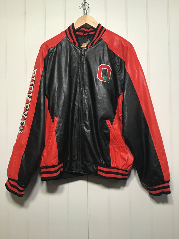 Ohio State Buckeys Varsity Jacket (Size L)