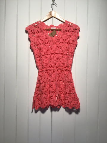 Alibi Crochet Dress (Size S)