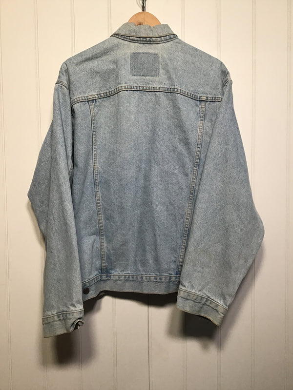 Levi Light Blue Denim Jacket (Size L)
