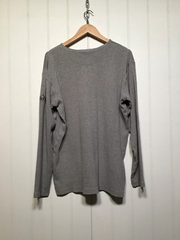 Adidas Ribbed Long Sleeve Top (Size L)