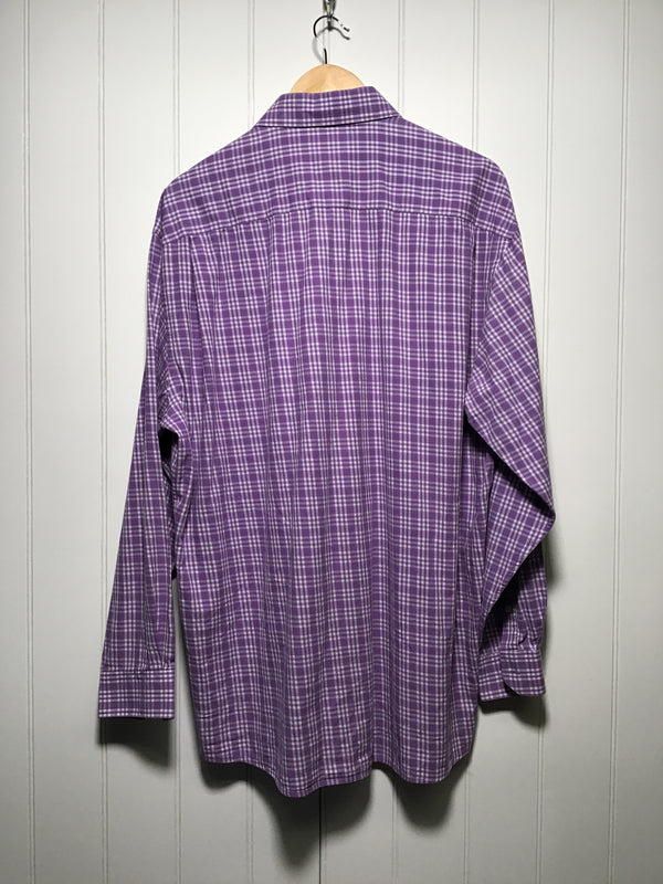Paul Smith Cheque Long Sleeve Shirt (Size XL)