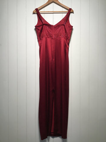 John Charles Beaded Evening Dress (Size M)