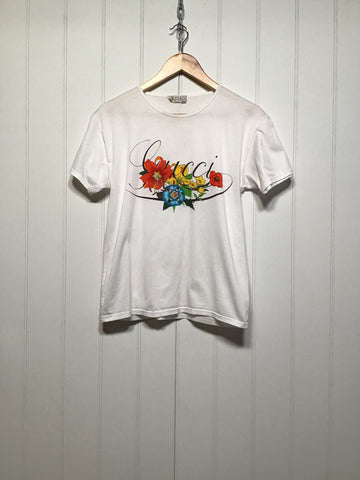 Gucci Flower T-Shirt (Women's Size S)