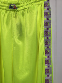 Fluorescent Yellow Tracksuit Bottoms (Size M/L)