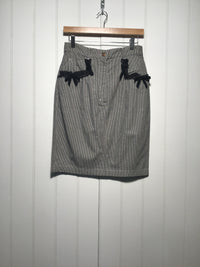Blumarine Hounds Tooth Skirt (Size S)