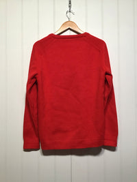 Formal Red Knitwear Jumper (Size L)