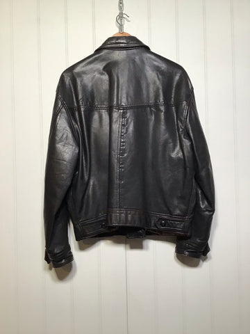 Classic Leather Jacket (Size M/L)