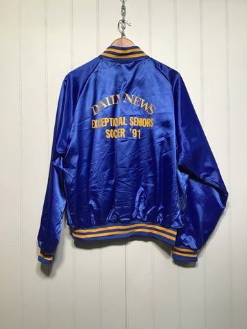 Daily News Varsity Jacket (Size L)
