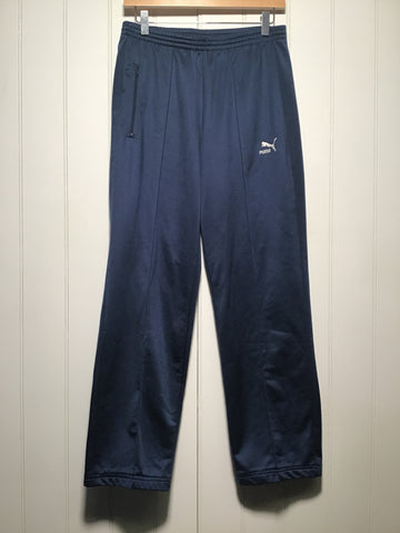 Puma Relaxed Fit Tracksuit Bottoms (Size S)