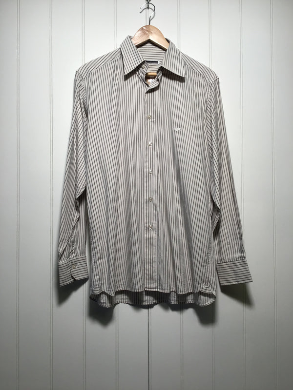 K of Krizia Uomo Long Sleeve Shirt (Size M)