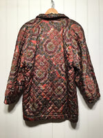 Accordo Kaleidoscope Pattern Women's Coat (Size L)