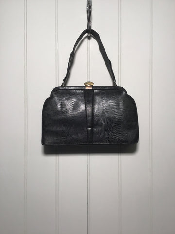 Textured Leather Bag