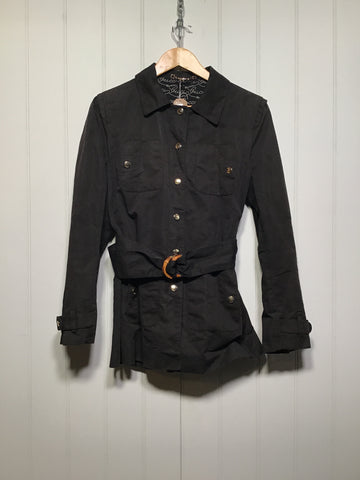 Gucci Jacket with Classic Wooden Buckle (Size S)