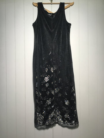 Metallic Long Dress (Size L)