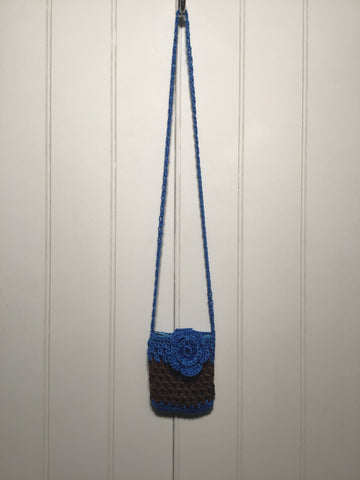 Flower Crochet Mini Bag