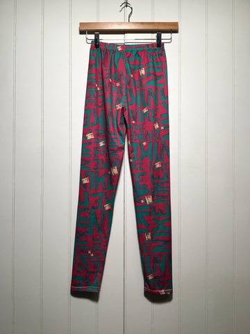 Nike Graffiti Leggings (Size XS/S)