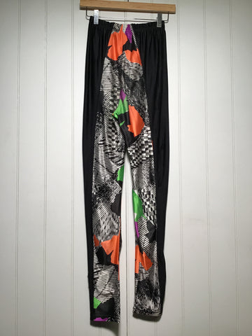 Abstract Print Sports Leggings (Size S/M)