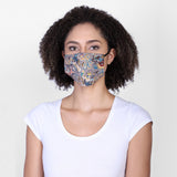 Aztec reversible face mask