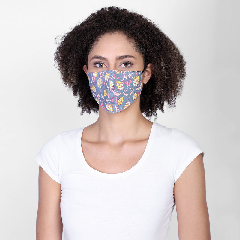 Camille reversible face mask