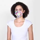 Floral Bloom reversible face mask