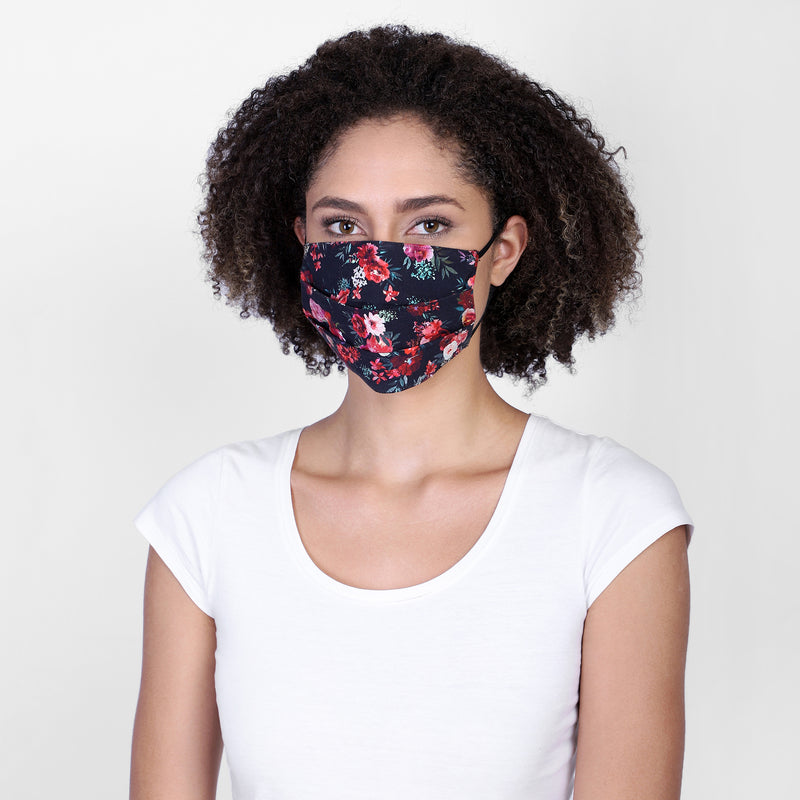 Daisy reversible face mask
