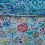 Reversible Mixed Floral Scarf