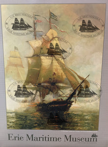 Davidson Battle of Lake Erie Poster