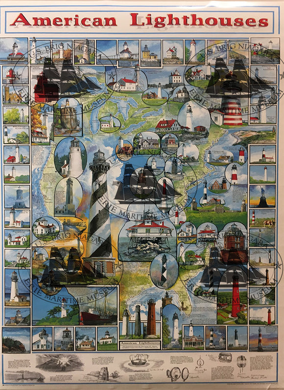American Lighthouses Poster 25