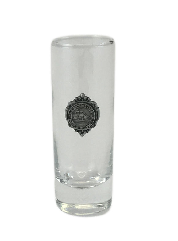 US Brig Niagara Clear Shooter Glass With Charm