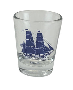US Brig Niagara Clear Shot Glass