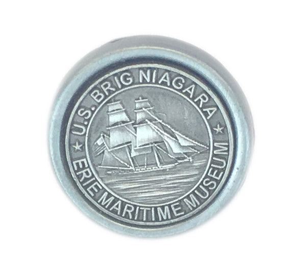 US Brig Niagara Metal Charm Lapel Pin