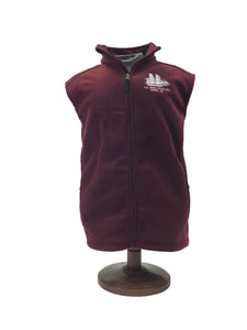 US Brig Niagara Fleece Full Zip Vest