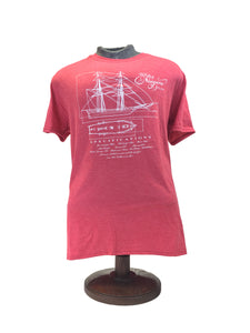 US Brig Niagara Blueprints T-Shirt