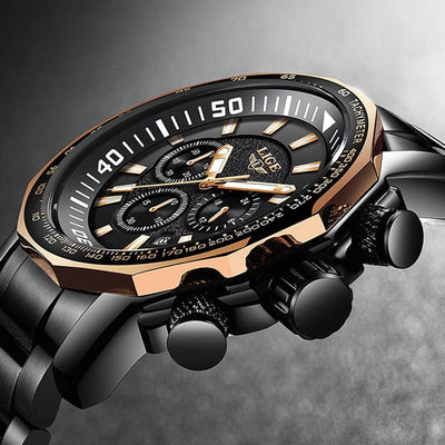 Relojes Hombre 2018 New LIGE Fashion Mens Watches Luxury Brand