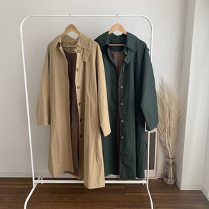 trench straight coat