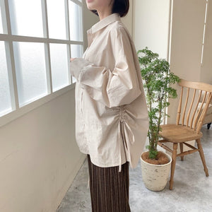 side bind blouse