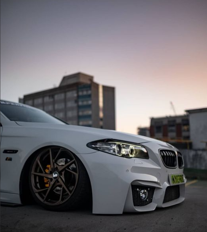 Stanced BMW 5 Series looks amazing!