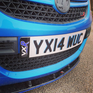 Arden blue VXR with a NEON Blue plate 🚙