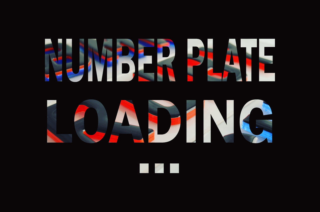 Number plate loading...