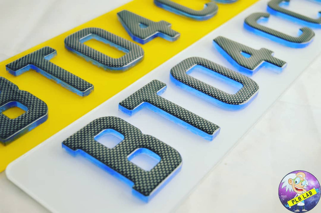 Hot seller of the month - 4D Neon Plates