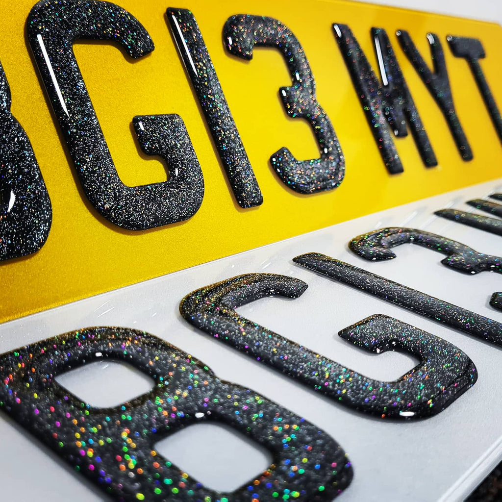 Cosmic Glitter 3D Gel Plates - Limited stock