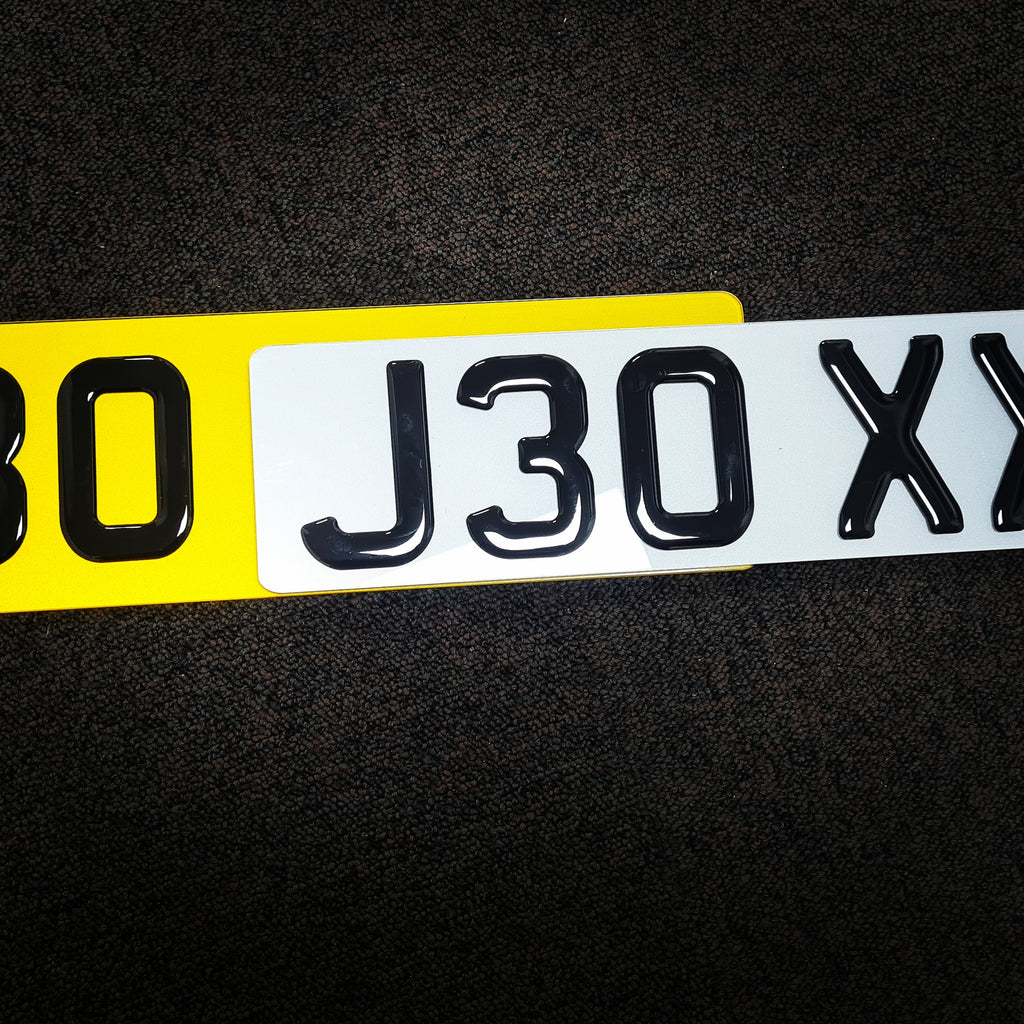90mm high Astra VXR plates