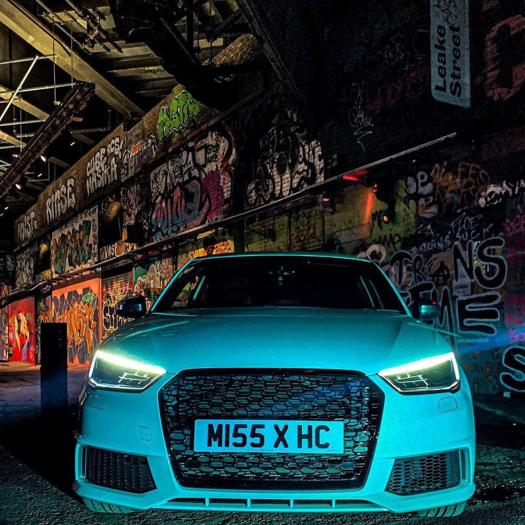Hollie's Audi S1 with some 4D plates
