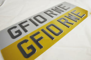 Tinted 4D Plates now back in stock