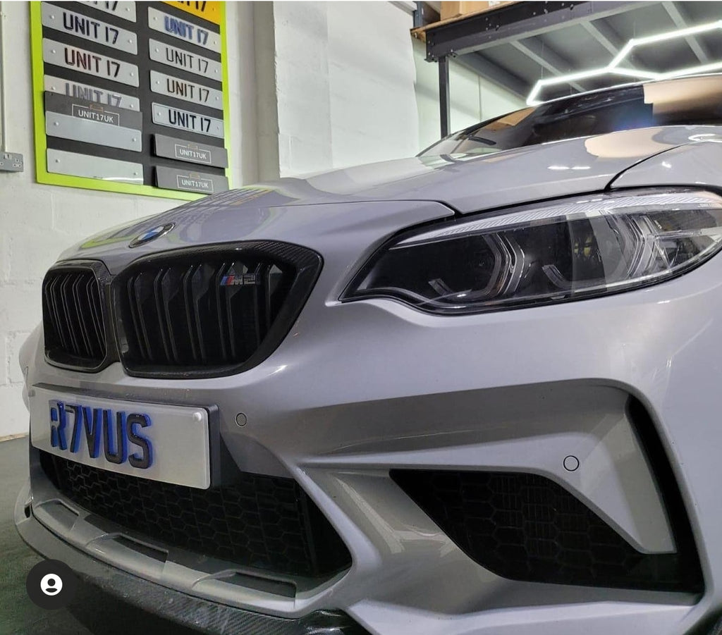 Neon 4D plates for this BMW M2