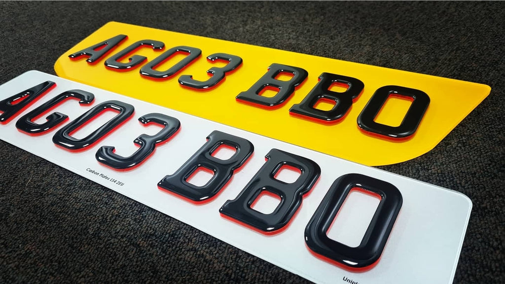 Curved Range Rover 4D Plates going out today
