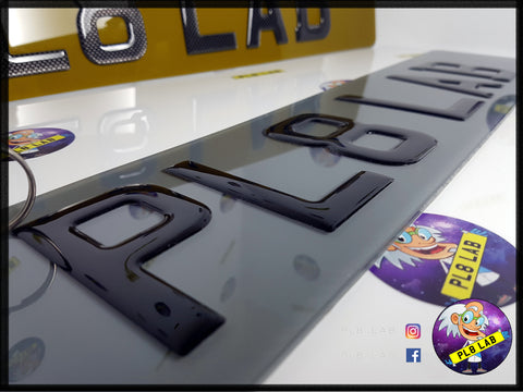 3D Tinted Plates-PL8 LAB