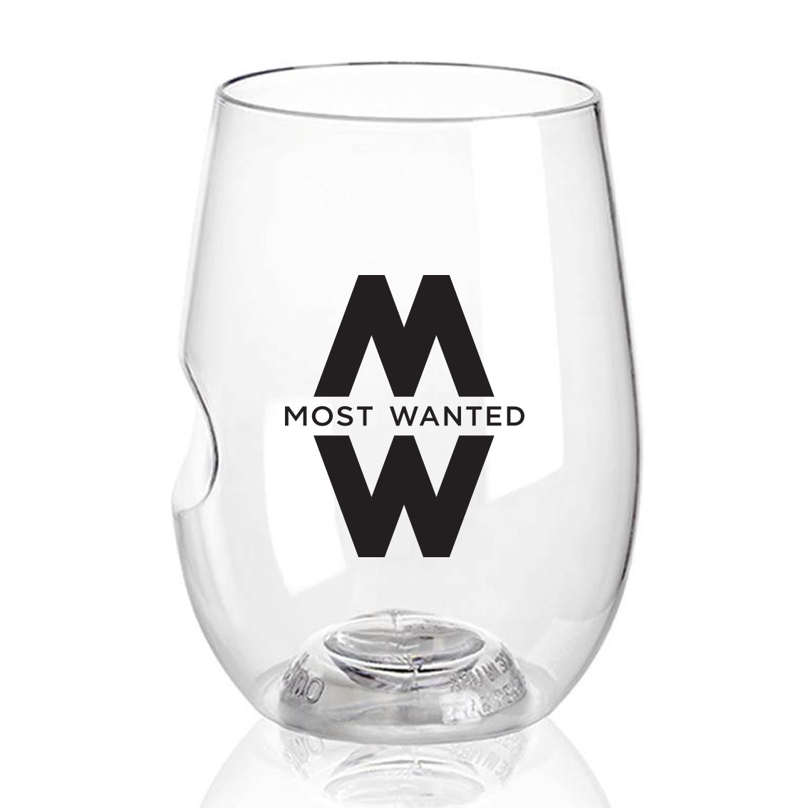 Most Wanted govino glass